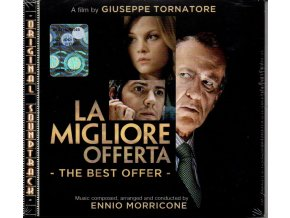 la migliore offerta best offer soundtrack cd ennio morricone