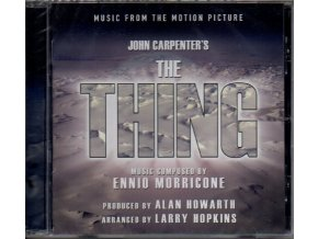 thing soundtrack cd ennio morricone