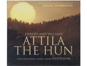 Nesmrtelní Válečníci: Attila (soundtrack - CD) Heroes and Villains: Attila the Hun / Napoleon