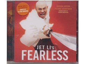 Obávaný bojovník (soundtrack - CD) Fearless