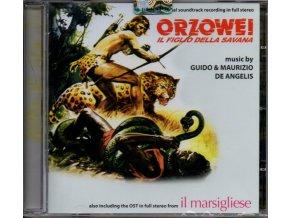 orzowei il figlio della savana soundtrack cd guido maurizio de angelis