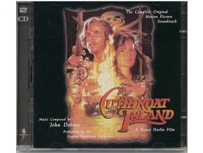Ostrov hrdlořezů (soundtrack - 2 CD) Cutthroat Island
