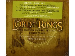 Pán prstenů (soundtrack - CD) The Lord of the Rings Trilogy