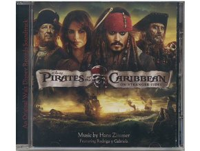 Piráti z Karibiku: Na vlnách podivna (soundtrack - CD) Pirates of the Caribbean: On Stranger Tides