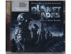 Planeta opic (soundtrack - CD) Planet of the Apes (2001)