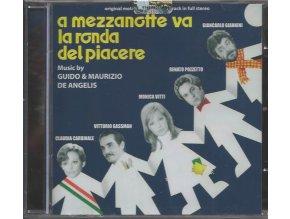 Po půlnoci to roztočíme (soundtrack - CD) A mezzanotte va la ronda del piacere