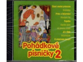 pohádkové písničky 2 cd