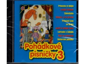 pohádkové písničky 3 cd