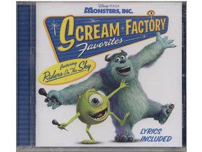 Příšerky s.r.o. (soundtrack - CD) Monsters, Inc. Scream Factory Favorites