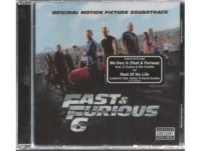 Rychle a zběsile 6 (soundtrack - CD) Fast and Furious 6