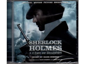 sherlock holmes a game of shadows soundtrack cd hans zimmer
