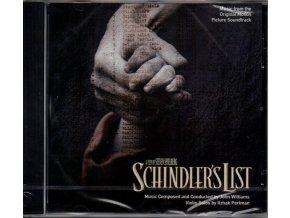 Schindlerův seznam (soundtrack - CD) Schindlers List