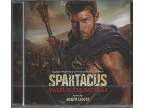 Spartakus: Krev a písek (soundtrack - CD) Spartacus: War of the Damned