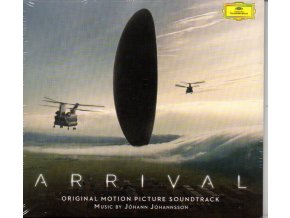 arrival soundtrack cd johann johannsson