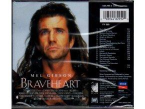 Statečné srdce (soundtrack - CD) Braveheart