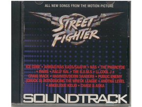Street Fighter: Poslední boj (soundtrack - CD)