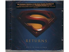 Superman se vrací (soundtrack - CD) Superman Returns