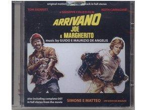 Šimon a Matouš jedou na rivieru (soundtrack - CD) Arrivano Joe E Margherito / Simone E Matteo Un Gioco Da Ragazzi