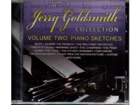 The Jerry Goldsmith Collection Volume Two: Piano Sketches (CD)