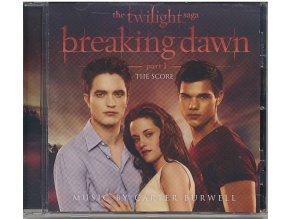 Twilight sága: Rozbřesk - 1. část (score - CD) The Twilight Saga: Breaking Dawn: Part One