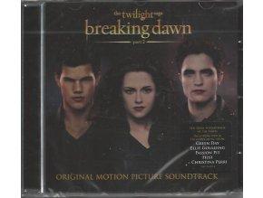 Twilight sága: Rozbřesk - 2. část (soundtrack - CD) The Twilight Saga: Breaking Dawn: Part Two