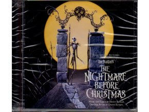 nightmare before christmas soundtrack 2 cd danny elfman
