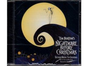 Ukradené Vánoce / Noční můra před Vánocemi (soundtrack - CD) The Nightmare Before Christmas (Deutsch)
