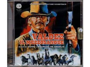 valdez il mezzosangue soundtrack cd guido & maurizio de angelis