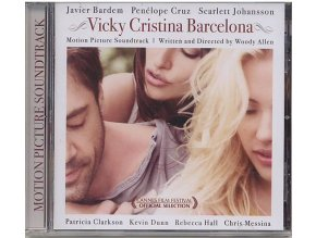 Vicky Cristina Barcelona (soundtrack - CD)