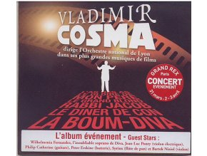 Vladimir Cosma: Avec L orchestre National (CD)