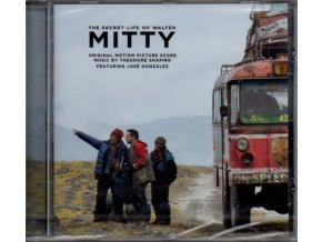 secret life of walter mitty score cd theodore shapiro
