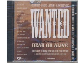 Wanted Dead or Alive: The Sound of Spaghetti Western (CD)