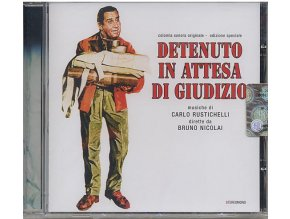 Zatčen na hranicích (soundtrack - CD) Detenuto In Attesa Di Giudizio - In Prison Awaiting Trial