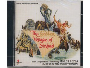 Zlatá Sindibádova cesta (soundtrack - CD) The Golden Voyage of Sinbad