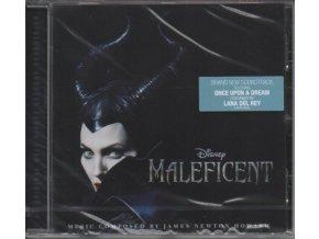 Zloba - Královna černé magie (soundtrack - CD) Maleficent