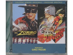 Zorro / Supersonic Man (soundtrack - CD)