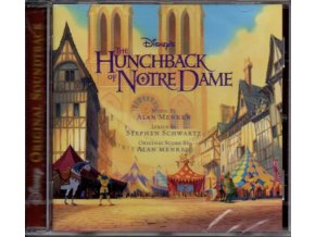 Zvoník u Matky Boží (soundtrack - CD) The Hunchback of Notre Dame