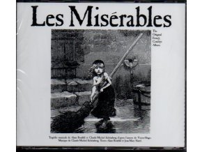 les miserables french musical 2 cd