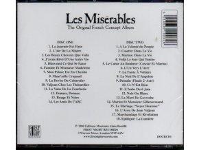Bídníci (muzikál) Les Misérables - Originál francouzská verze (2 CD)