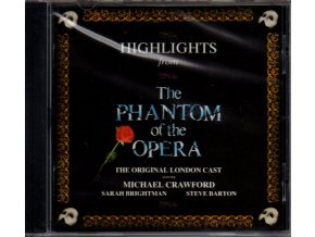 highlights from phantom of the opera cd andrew lloyd webber