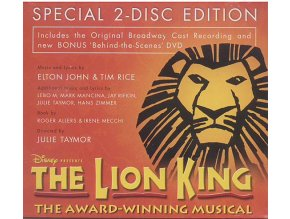 Lví král (muzikál) The Lion King (CD + DVD)