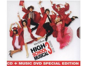 Muzikál ze střední 3: Maturitní ročník - High School Musical 3: Senior Year (CD + DVD)