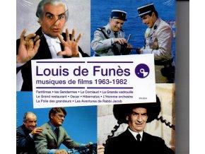 louis de funes musiques de films 1963 1982 4 cd