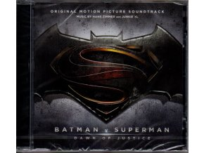 batman v superman dawn of justice soundtrack cd