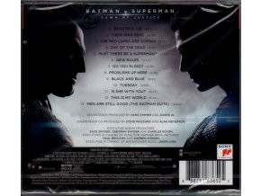Batman v Superman: Úsvit spravedlnosti (soundtrack - CD) Batman v Superman: Dawn of Justice