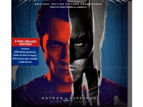 batman v superman dawn of justice 2 cd soundtrack hans zimmer junkie xl