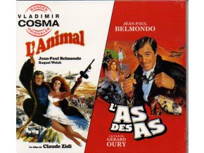 Vladimir Cosma - Animal/L'As Des As (Original Soundtrack) (Music CD)