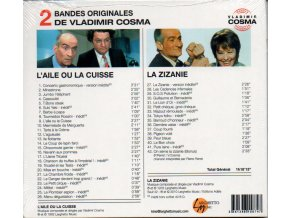 Various Artists - Aile ou la Cuisse/La Zizanie (Original Soundtrack) (Music CD)