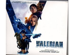 valerian and the city of a thousand planets score 2 cd alexandre desplat