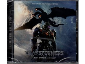 transformers the last knight soundtrack cd steve jablonsky